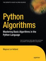 Python Algorithms - Magnus Lie Hetland