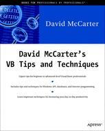 David McCarter's VB Tips and Techniques - David McCarter