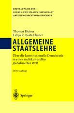 Allgemeine Staatslehre - Thomas Fleiner; Lidija Basta Fleiner