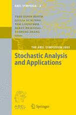 Stochastic Analysis and Applications - Fred Espen Benth; Giulia Di Nunno; Tom Lindstrom; Bernt Øksendal; Tusheng Zhang