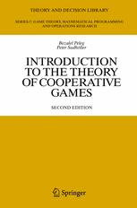 Introduction to the Theory of Cooperative Games - Bezalel Peleg; Peter Sudhölter