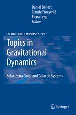 Topics in Gravitational Dynamics - Daniel Benest; Claude Froeschle; Elena Lega