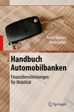 Handbuch Automobilbanken - Frank Stenner