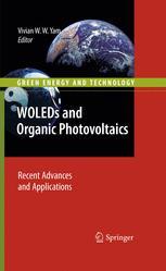 WOLEDs and Organic Photovoltaics - Vivian W. W. Yam