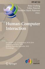 Human-Computer Interaction - Peter Forbrig; Fabio Paternó; Annelise Mark Pejtersen