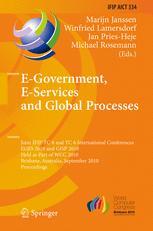 E-Government, E-Services and Global Processes - Marijn Janssen; Winfried Lamersdorf; Jan Pries Heje; Michael Rosemann