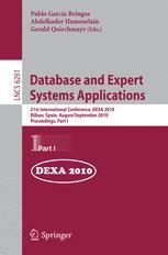 Database and Expert Systems Applications - Pablo García Bringas; Abdelkader Hameurlain; Gerald Quirchmayr