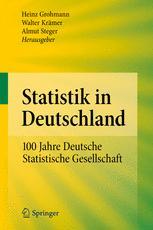Statistik in Deutschland - Heinz Grohmann; Walter Krämer; Almut Steger
