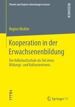 Kooperation in der Erwachsenenbildung - Regine Mickler