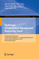 Challenges of Information Management Beyond the Cloud - John N. Gathegi; Yasar Tonta; Serap Kurbanoglu; Umut Al