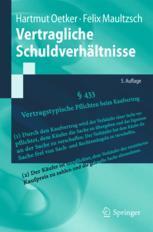 Vertragliche Schuldverhältnisse - Hartmut Oetker; Felix Maultzsch