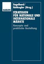Strategien für nationale und internationale Märkte - Johann Engelhard; Heinz Rehkugler