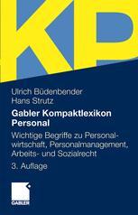 Gabler Kompaktlexikon Personal - Ulrich Büdenbender; Hans Strutz