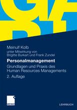 Personalmanagement - Brigitte Burkart; Meinulf Kolb; Frank Zundel