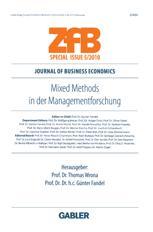 Mixed Methods in der Managementforschung - Thomas Wrona; Günter Fandel
