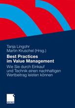 Best Practices im Value Management - Tanja Lingohr; Martin Kruschel