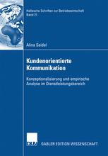 Kundenorientierte Kommunikation - Alina Seidel; Prof. Dr. Manfred Becker