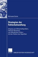 Strategien der Fehlerbehandlung - Prof. Dr. Martin Richter; Michaela Donle