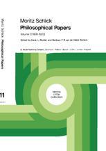 Moritz Schlick Philosophical Papers - Henk L. Mulder; Moritz Schlick; B.F.B. van de Velde-Schlick