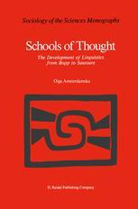 Schools of Thought - O. Amsterdamska