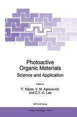 Photoactive Organic Materials - F. Kajzar; Vladimir M. Agranovich; C.Y.-C. Lee