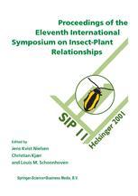 Proceedings of the 11th International Symposium on Insect-Plant Relationships - Jens Kvist Nielsen; Christian Kjær; Louis M. Schoonhoven