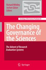 The Changing Governance of the Sciences - Richard Whitley; Jochen Gläser