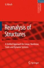 Reanalysis of Structures - Uri Kirsch